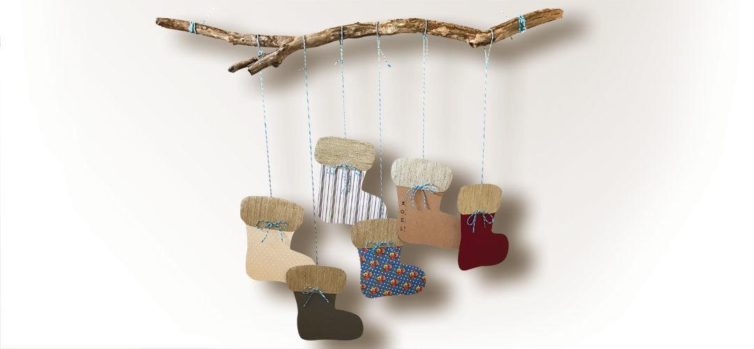 Christmas boots decor | Botas decorativas para navidad