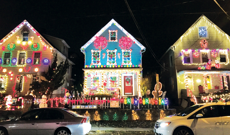 Decorated Holiday Houses